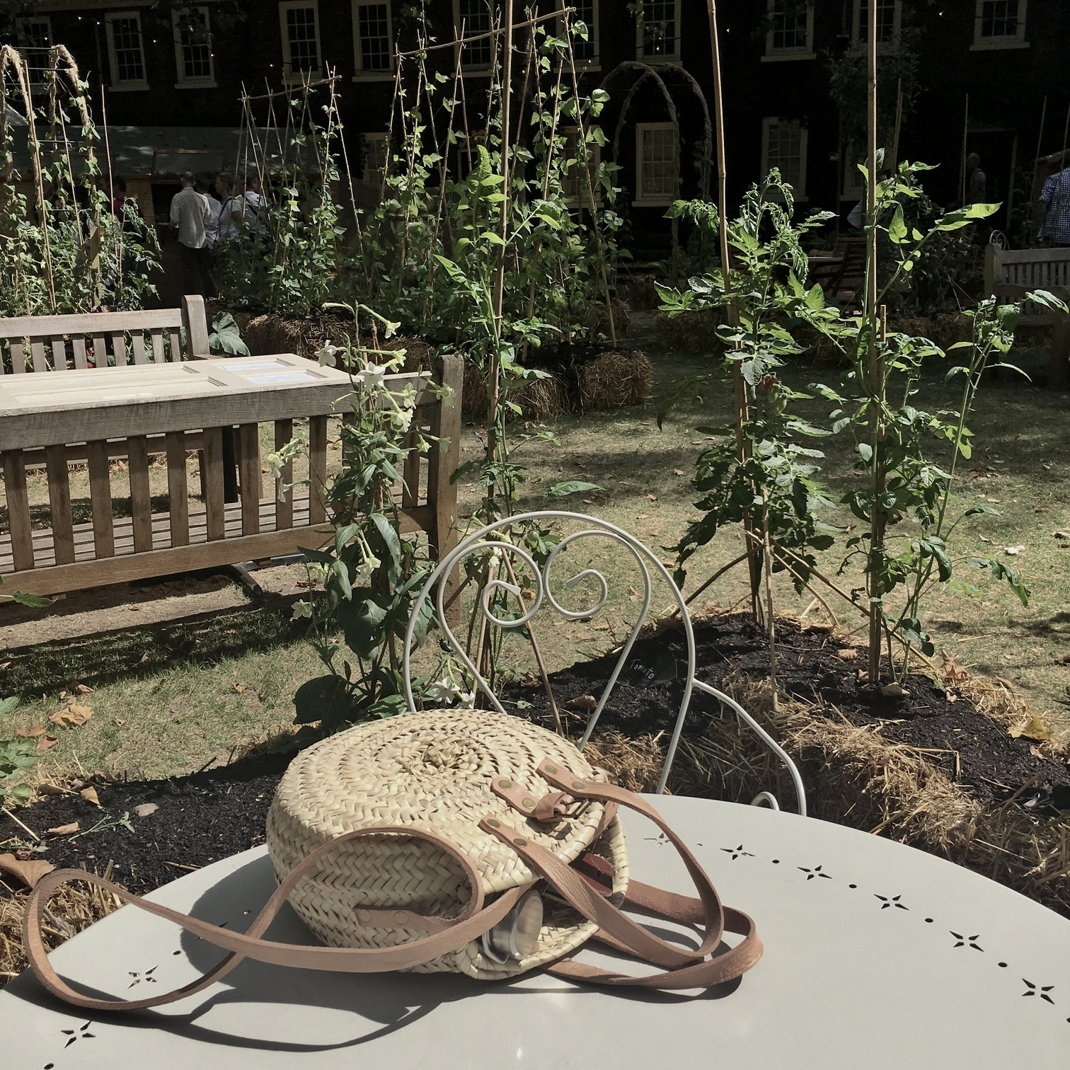 Geffrye Museum Pop-Up Garden in Hoxton