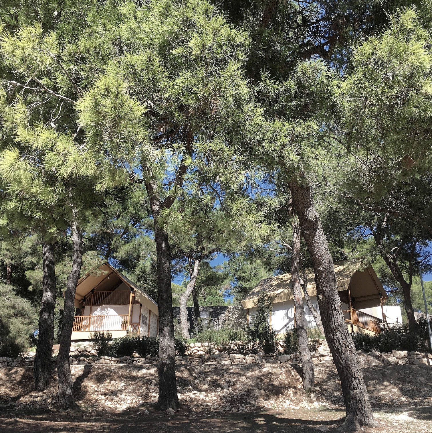 Glamping in Pula, Istria