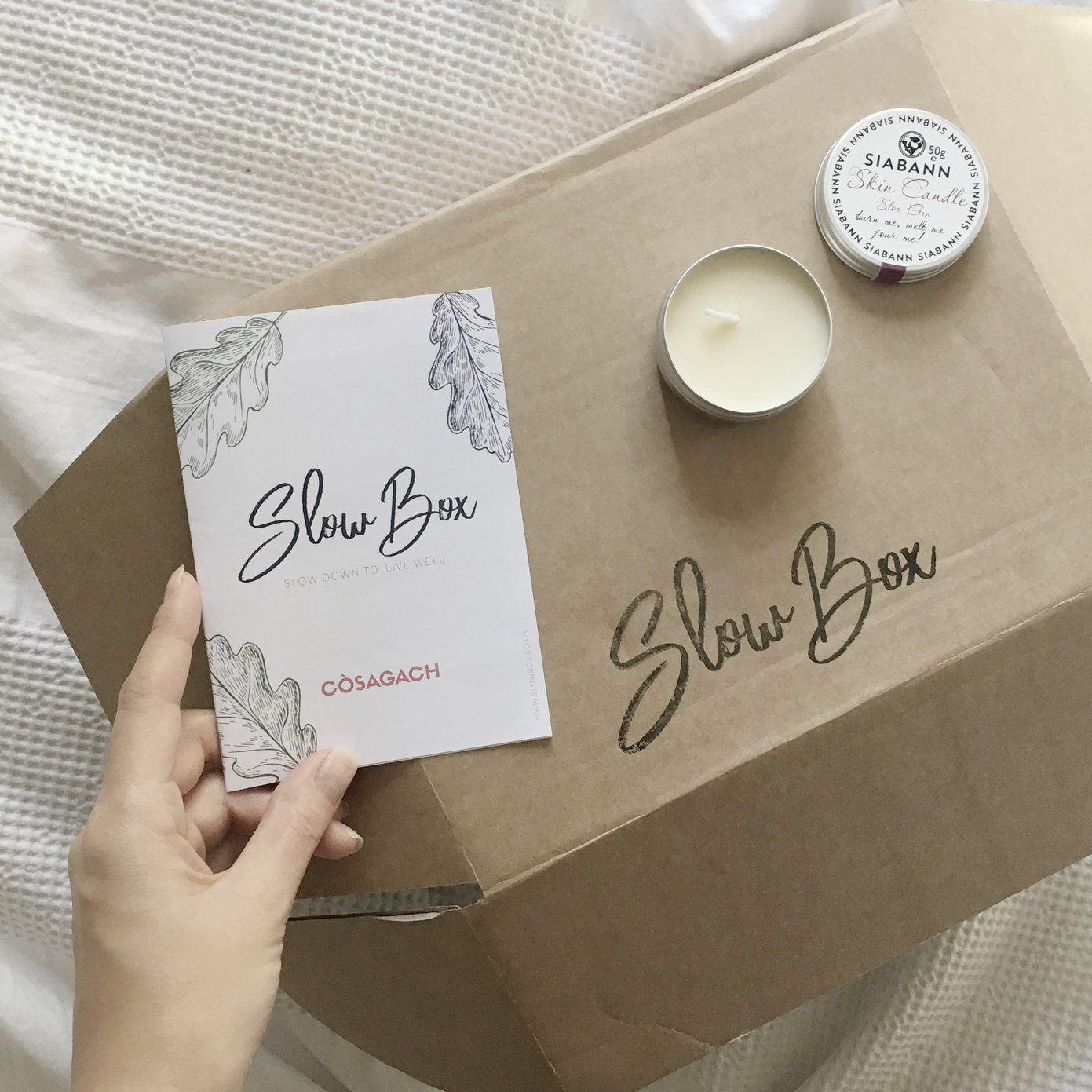 Slow Box - Slow living subscription box