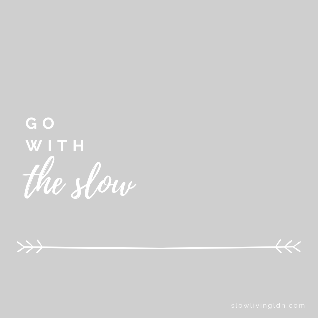 Go with the slow quote