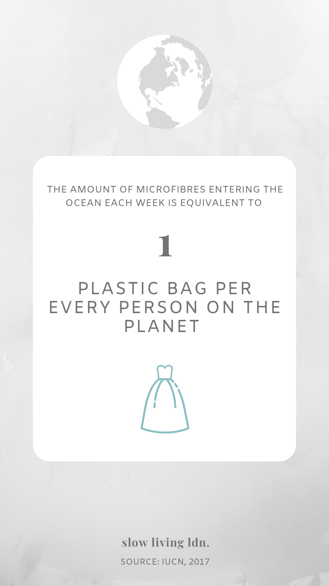 Microfibres pollution infographic