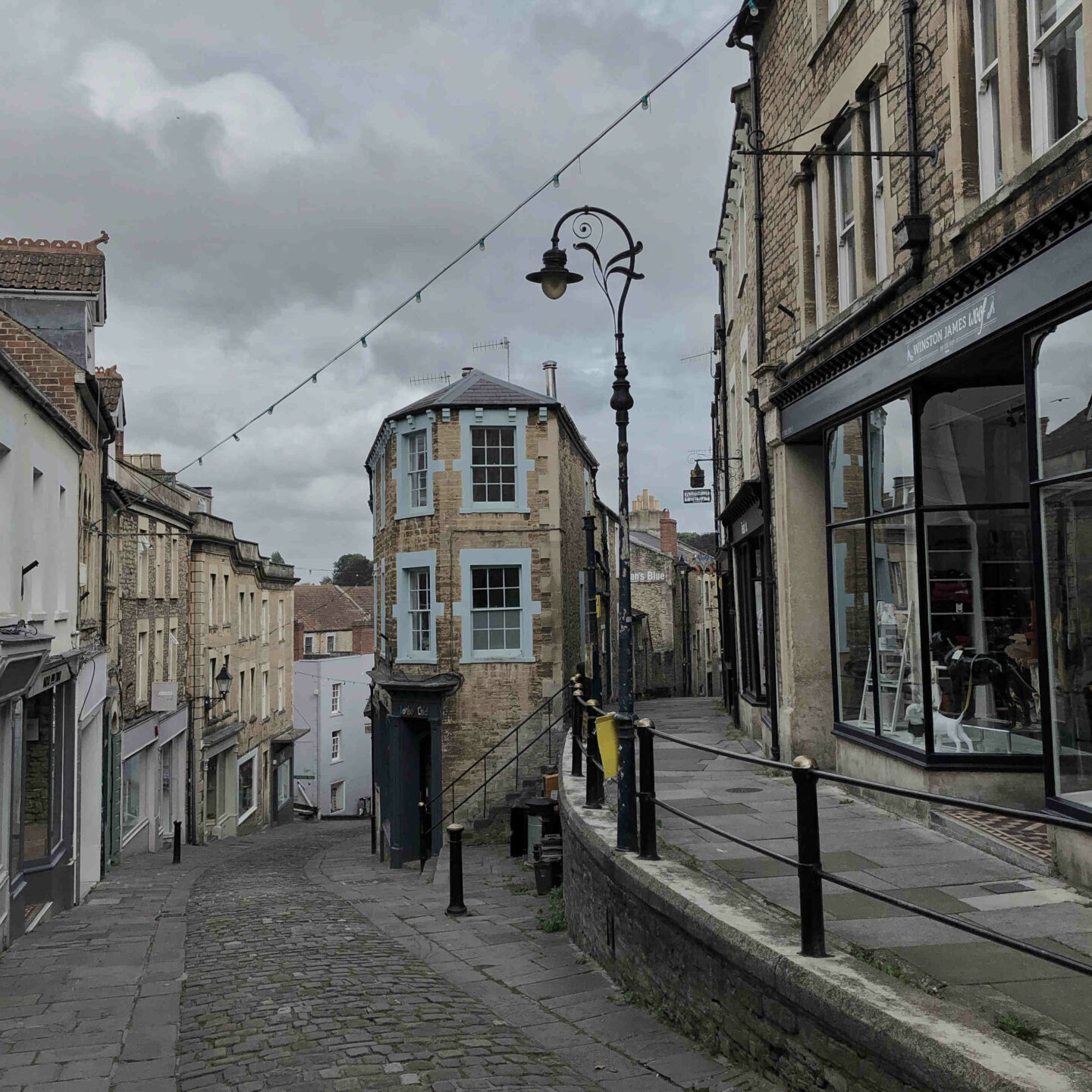 Catherine Hill shops in Frome