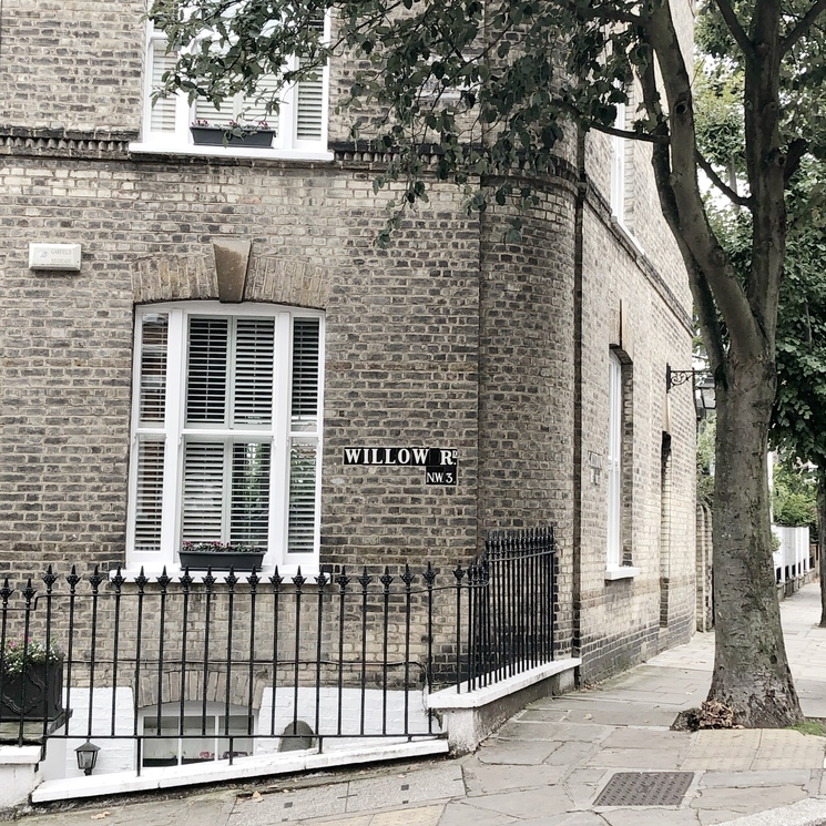 Pretty street corners in Hampstead