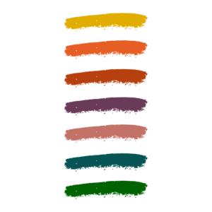 Autumn colour affects system palette