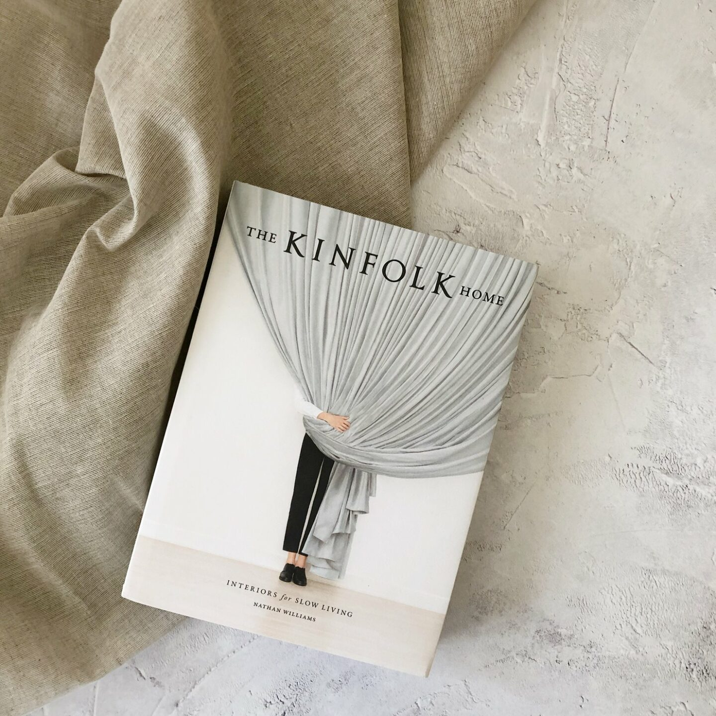 Kinfolk Home book flatlay