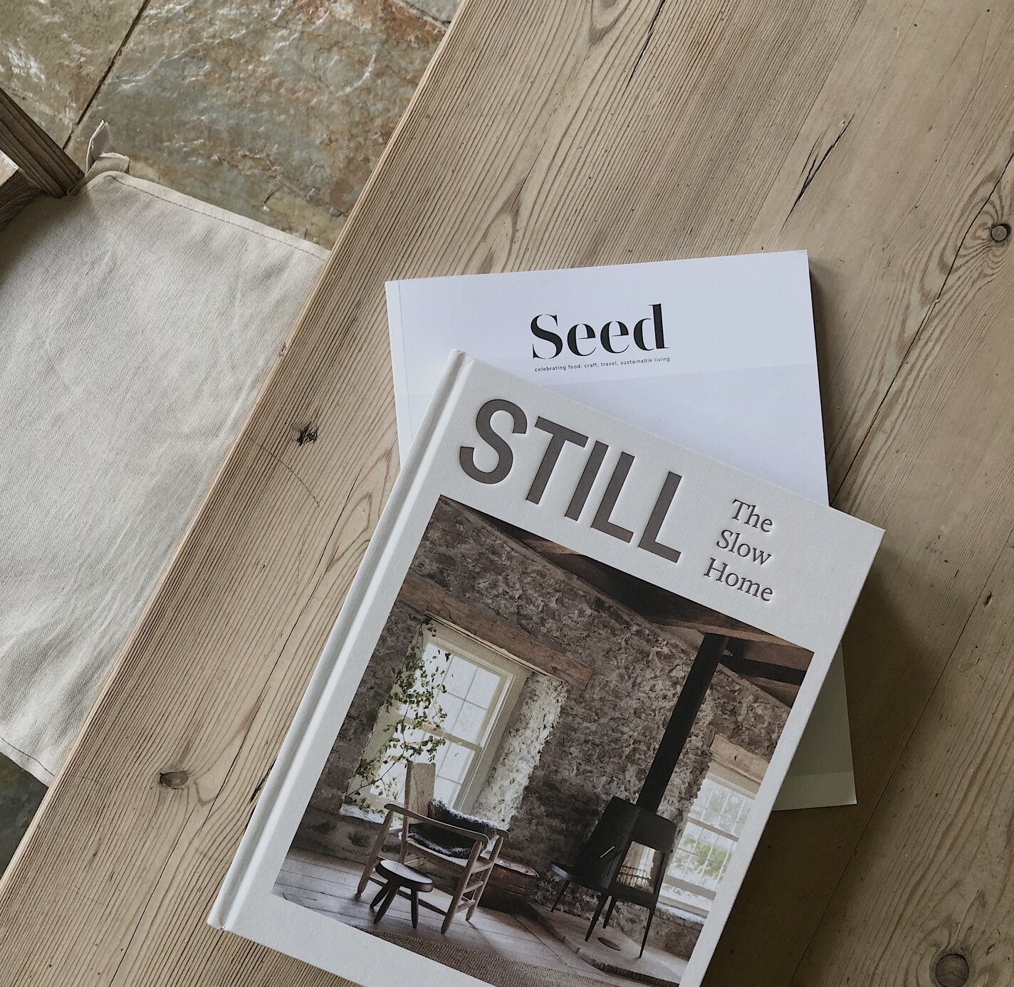 Still The Slow Home book and Seed Magazine