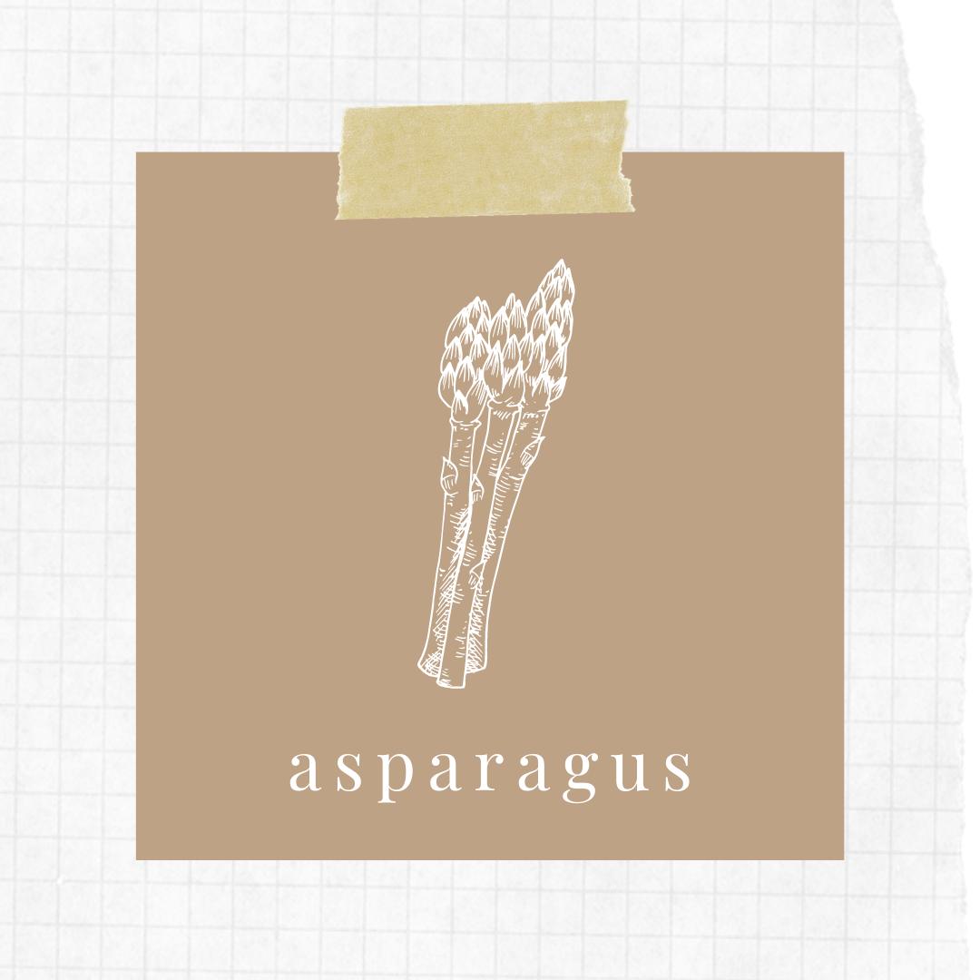 Asparagus in season - June